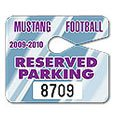 "Jumbo Parking Permit Hang Tags, 4"" x 3-1/2"""