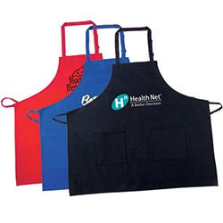 Kitchen Bib Aprons, 100% Cotton - Colored