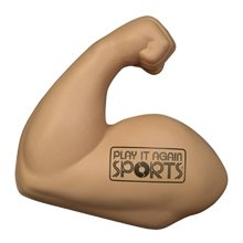 Stress Balls, Muscle Arm Shape