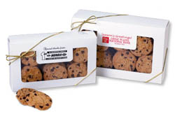 Chocolate Chip Cookies, White Boxes