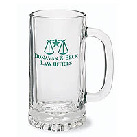 16 oz. Tankard Glass Steins