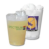 Plastic Cups, Poly Tumblers, Frosted Unbreakable 10 oz.