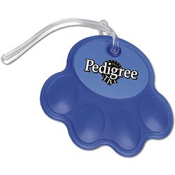 Paw Luggage Tags