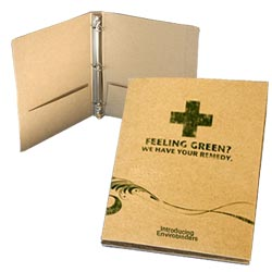 Recycled 3-Ring  Binders, 100% Recycled Envirobinder