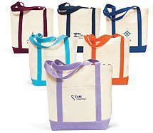 Captain's Boat Tote Bags