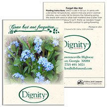 Forget-Me-Not Seed Packets