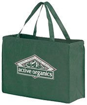 "16"" x 12"" Non-Woven Reusable Shopping Bags"