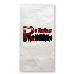1-Ply White Dinner Napkin, 1/8 Fold (High Quantity)