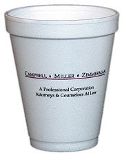 10 oz. Foam Cup (Offset Printed)