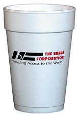 16 oz. Styrofoam Cups, High Quantity