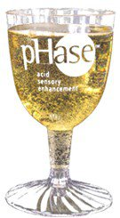5 oz. 2-Piece Clear Plastic Wine Goblet (Screen Printed)
