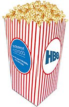 "4"" x 8"" Large Scoop Style Popcorn Boxes"