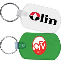 Vinyl Rectangle Key Tags
