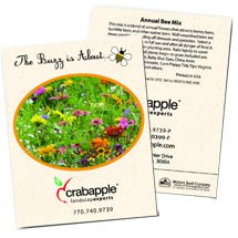 Annual Bee Mix Seed Packets