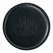 Achiever Leather Coasters