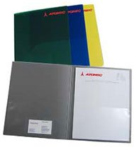 Plastic Professional Presentation Folder
