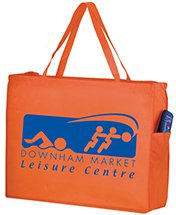 "20"" x 16"" Non-Woven Reusable Shopping Bag with Pockets"