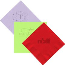 2-Ply Colored Beverage Napkin (Debossed)