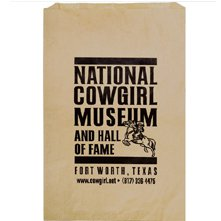 "14"" x 3"" x 21"" Natural Kraft Merchandise Bags"