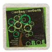 "4"" x 4"" Lightweight Square Seed Infused Coasters"