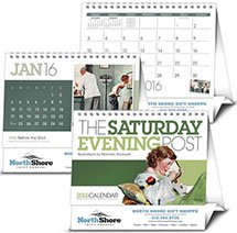 The Saturday Evening Post Desk Calendar - Large