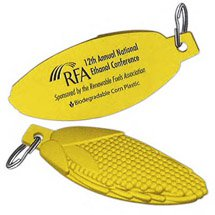 Biodegradable Corncob Key Tag