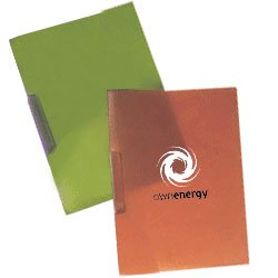 Opaque Frosted Presentation Folders