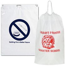 "12"" x 16"" Cotton Cord Drawstring Bag"