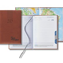 2016 Tuscan Tabbed Mid Size Daily Planners