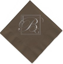 2-Ply Chocolate Brown Luncheon Napkin