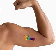 "3"" x 3"" Waterless Temporary Tattoos"