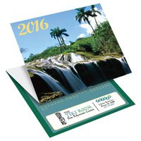 Scenic Trifold Calendar Cards
