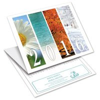 Seasons Trifold Calendar Cards