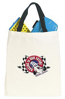 "13"" x 15.5"" Lightweight Cotton Bargain Tote Bags"