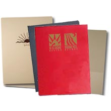 "Foil Stamped Presentation Folders, Right Pocket , 9"" x 12"""