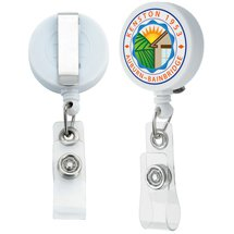 Full Color Retractable Badge Holders