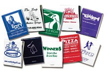 20-Stick Match Books (Color on White)