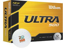 Wilson Golf Balls, Ultra Ultimate Distance