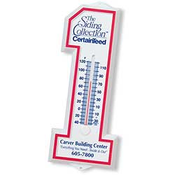 Number One Plastic Thermometers