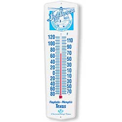 Outdoor Weather-Guard Plastic Thermometers