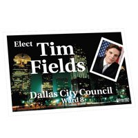 "Campaign Walk Cards, 2-1/2"" x 4"""