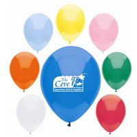 Basic Color Latex Balloons, 9""