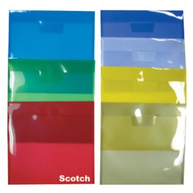 "Plastic Side Open Envelopes, Tuck In Flap 9-7/8"" x 11-5/8"""