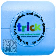 Condom Compacts w/ Clear Label - Custom Condoms® Brand
