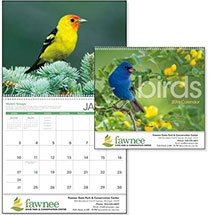 Bird Calendars, Birds - 12 Month