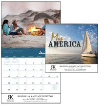 Patriotic Calendars, My America Calendar - 12 Month