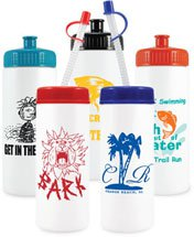 16 oz. Classic Sports Water Bottles
