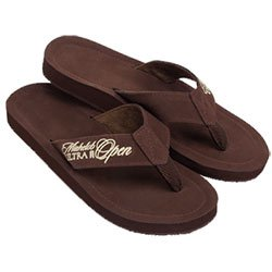 Kauai Flip Flops, Nubuck Leather
