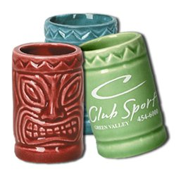 4 oz. Tiki Shot Glasses
