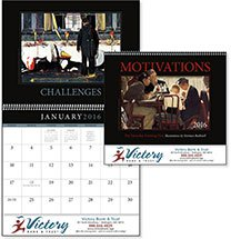 Norman Rockwell Calendars, Motivations The Saturday Evening Post - 12 Month